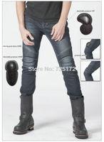 New arrival motorcycle jeans Slim straight fit Kevlar denim jeans uglyBROS - 2Slub-K - men's jeans