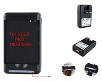 New Arrivals High Quality BL-53YH 2 in 1 AC Battery Charger For LG Optimus G3 F400 D830 D855 Free Shipping