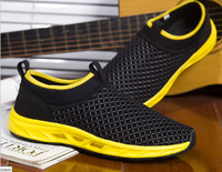 Summer men breathable running barefoot wind tour single shoe covers the surface movement leisure shoes feet lazy shoes
