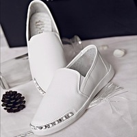 2014 spring new style fashion girl casual shoes white women flats fashion women flat shoes yx74