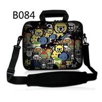 Stylish Cartoon Animals Laptop Notebook Shoulder Bag Case Cover Computer PC w/handle For ThinkPad HP DELL SONY Asus