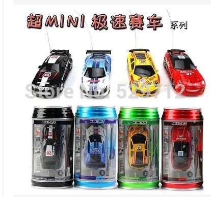 New Mini Coke Can RC Radio Remote Control Micro Racing Car Hobby Vehicle Toy Christmas Gift Free Shipping(China (Mainland))