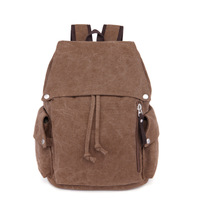 popular retro canvas backpack laptop bag leisure backpack students bag