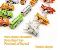 Back Plane toys, pull back the bus, back toys, simulation airport, card TOYS,toys for boy