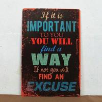 Home decoration TIN SIGN Metal letters poster Decor Wall Art Vintage Rustic Oil Gas Garage Shop Bar P-188