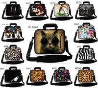 """Stylish Stylish 15"""" 15.4"""" 15.6"""" 13"""" 13.3"""" 11.6"""" 14"""" 10.1"""" Notebook Laptop Sleeve Carry Bag Shoulder Strap Case Pouch Cover"""
