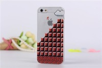 100pcs/lot New Cartoon Simpson Super Mario Snow White Crayon hard case for iphone 5 5s  For iphone 5 5s Hard Case  Hot