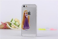 10pcs/lot Fashion Simpson Super Mario Snow White Crayon cartoon hard cell phone covers case for iphone 5 5s  New
