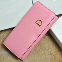 hot sale Women Wallets Genuine Leather Women purse 2014 change cash women wallets