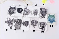 100pcs/lot  Animal Owl Cat Eagle Elephants Hard Case For iphone 5 5s For iphone 5 5s Hard Case Hot