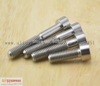 M6 Titanium Bolts DIN912 M6X15 18 20 25 30 35 40 45 50 55 Ti 5mm Allen Socket Head Cap Screws