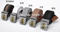 2014 south Korean new men fashion canvas belt female leisure joker thickening personality belts,male Military trouser belt