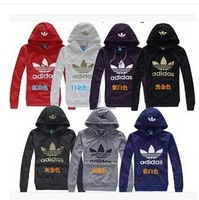 Free shipping 2014 New Year cool hoodies and men's sweater hoodie jacket plus size women's sports suit Moleton S ~ 3XL21 species