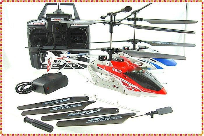 все цены на Детский вертолет на радиоуправление Syma RTF S032 3CH R/C helicoptor онлайн