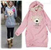 Cute Girls Womens Mickey Minnie Mouse Ear Emo Sweatershirt Jumper Hoodie Casual New 2014