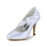 Free Shipping!satin Peep Toe Wedding Shoes With Rhinestone Stiletto Heel Cy0317