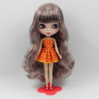 Free shipping Nude Blythe dolls(Mixed gray  hair)