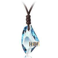 Austria crystal wishing stone Women pendant accessories 925 pure silver hydrowave pendant