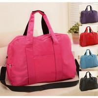2014 big size waterproof nylon Zipper duffel luggage travel bags for man and women