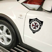 Protective Resident Evil Personality stickers Umbrella cars door sticker covers for car styling vw fiat suzuki