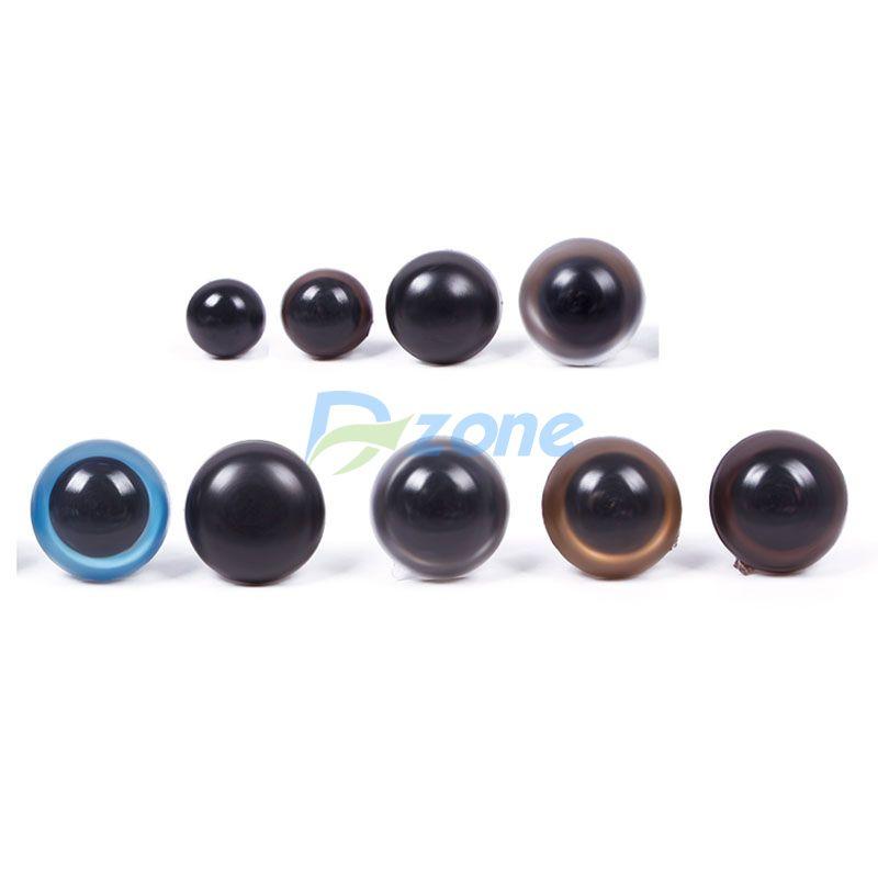 Hot 5 Pairs Eyes Teddy Bear Soft Toys Snap Animal Dolls Safety Plastic 12mm#57962(China (Mainland))