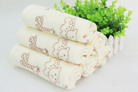 2014 new 100% cotton baby towel face  towel for newborn also for children and adults 30x60cm+ free shipping