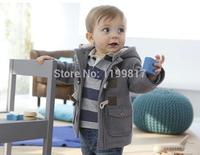 2015 новых осень карман хлопка с длинными рукавами футболка мальчиков девочек одежду детей футболку дети одежда