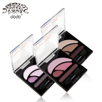 Dodo four color eye shadow eye shadow earth color thin natural nude makeup durable