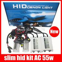 factory high quality hid kit 55W hid xenon kit slim ballast h1 h3 h4 h7 h9 h11 h16 880 9005 9006 hb3 hb4 ree shipping