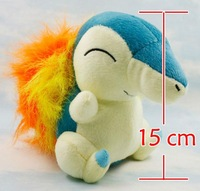"About 15CM 9"" Pokemon Plush Toy Cyndaquil Plush Toy Soft Doll For Kids,Collectible Plush Animals huoqiushu PB21,Free Shipping."
