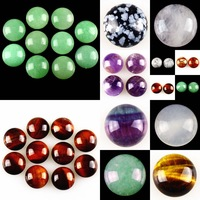 16mm Round Flatback Cabochon CAB Ring Face Jasper Gemstone Accessory Wholesale