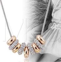 Austria crystal collar female short designpendant accessories