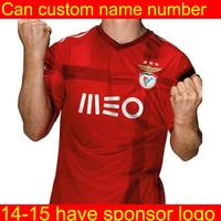 Benfica jersey  2015  Soccer Jerseys Futbol Tshirt MAGNO#7 DJURICIC#10 football Shirt top thailand quality