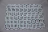 whole sales, white color felt placemat/table mat /multi color felt  mat size:30*45cm