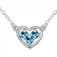 present ,ovely pendant Austrian crystal jewelry necklace, the perfect present !  G136