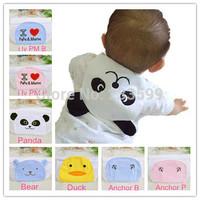 [Express Free] Wholesale 50pcs MIX Cute cartoon 4 layer cotton Baby sweatbands kids towel child sweat bands lovely design