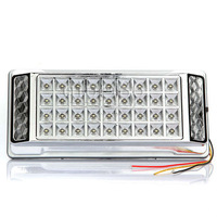New White DC 12V 36 LED Car Interior Light Vehicle Dome Ceiling roof light Lamp Silver