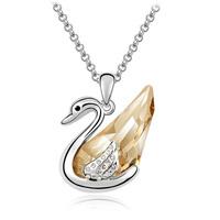 Austria crystal pendant 925 pure silver female pendant accessories