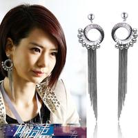 Earrings stud earring fashion tassel earrings long design vintage earring