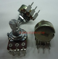 [BELLA]Taiwan produced WH148 single joint potentiometer A100K clubfoot shaft length 15 rachis dedicated volume potentiometer--10