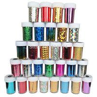 Nail Art Decals,46colors(48pcs/lot)Nail Transfer Foils,DIY Foil Polish Nail Beauty Stickers,Gold Silver Styling Design Nail Tool
