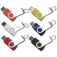 Free DHL: 100units x 4gb Swivel USB flash drive with logo printing flash pendrive