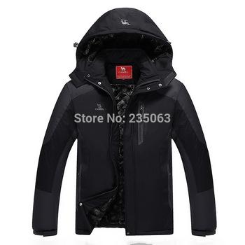 2014 Brand Модный Down & Parkas Outdoor Hood Warm Windproof Winter Jacket Men ...