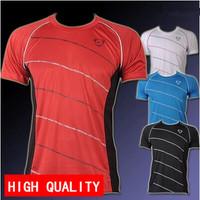 Hot sale 2014 New summer Mens Designer Quick Drying Casual T-Shirts Tee Shirt Slim Fit New Sport Shirt plus-size M-XXL LSL116
