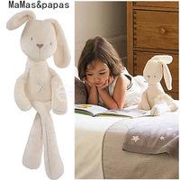 New and hot absolutely original  MaMas & papas bunny rabbit doll silky deer dolls free shipping