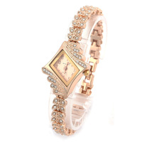 2014 New Hot Brand New Lady Women's Fashion Luxury Quartz Rhinestone Crystal Wrist Watch Free Shipping # L05605