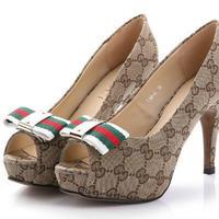 Free shipping lady pumps peep toe women high heel with platform women fashion pumps canves elegant lady fashion shoes