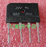 Free Shipping! [ IC ] special GBJ2510 (25A/1000V) flat bridge rectifier bridge pile cooker original word