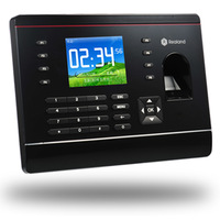 Free Shipping TCP/IP Realand Fingerprint and FRID card time attendance A-C061