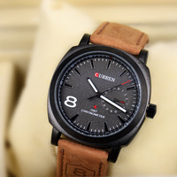 2014 New Curren Quartz Business Men's Watches fashion military Army Vogue Sports Casual Wristwatches ,High quality Relogio